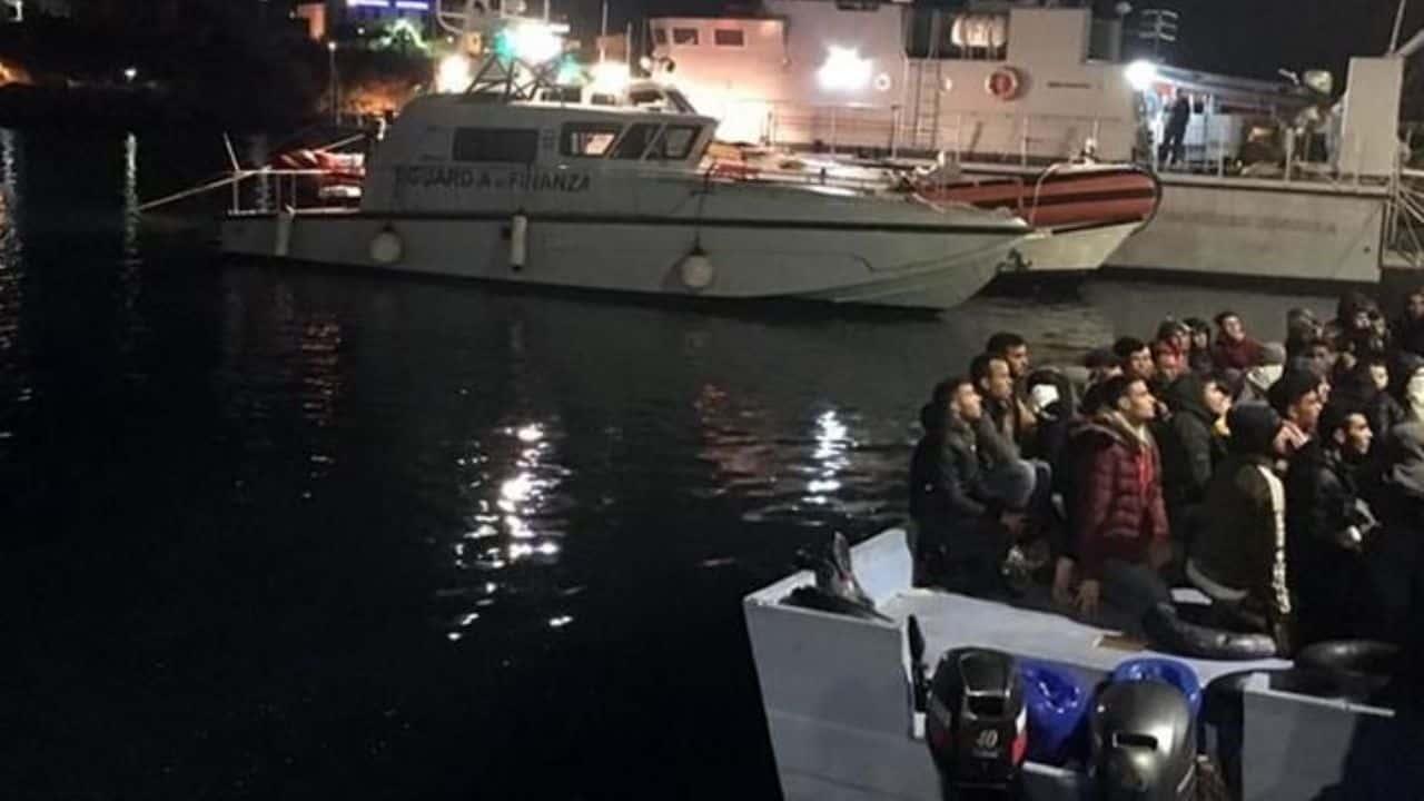 sbarco migranti a Roccella Jonica