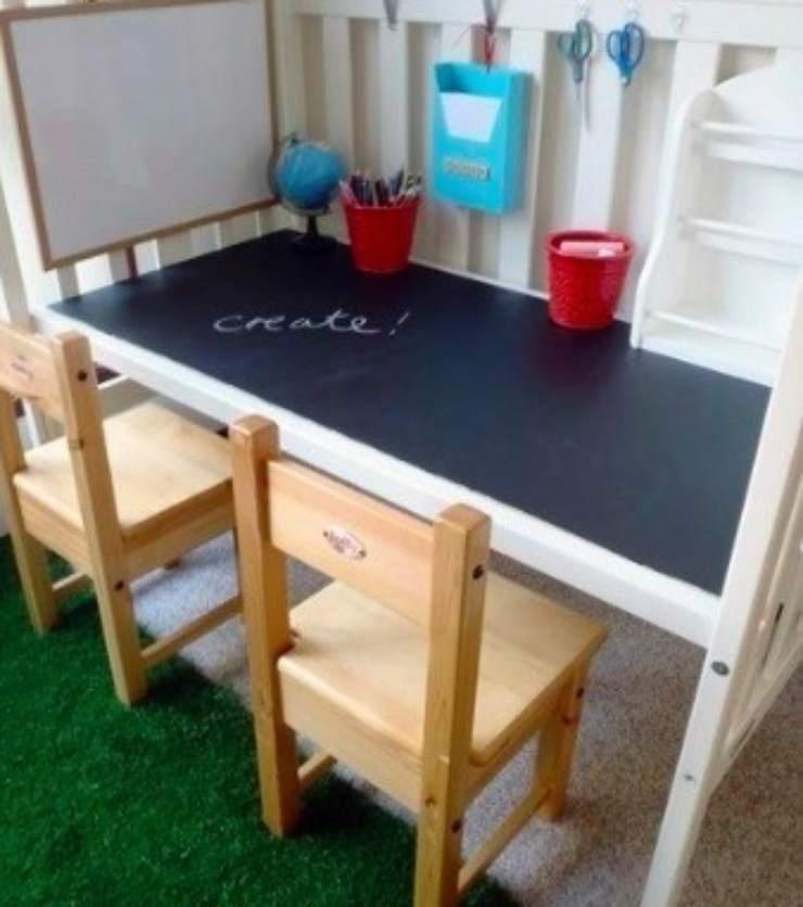 scrivania con lettino-Meteoweek.com