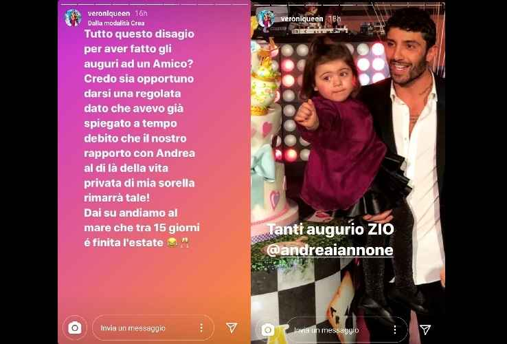 Andrea Damante tornato single? Influencer interviene: