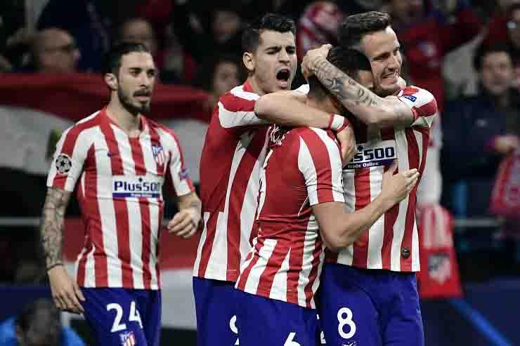 Atletico Madrid due tesserati positivi al covid