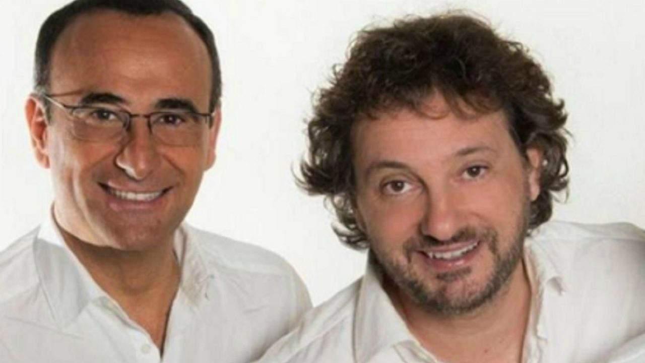 Carlo Conti e Pieraccioni oggi - meteoweek