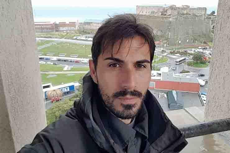 Davide Capello ex calciatore Cagliari Ponte Morandi
