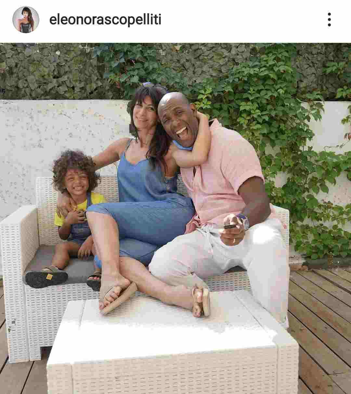 Eleonora con la sua famiglia - Fonte Instagram