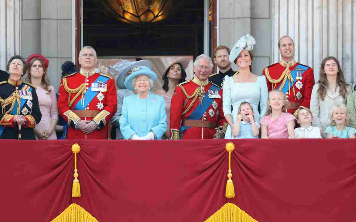 Famiglia Reale al completo - meteoweek