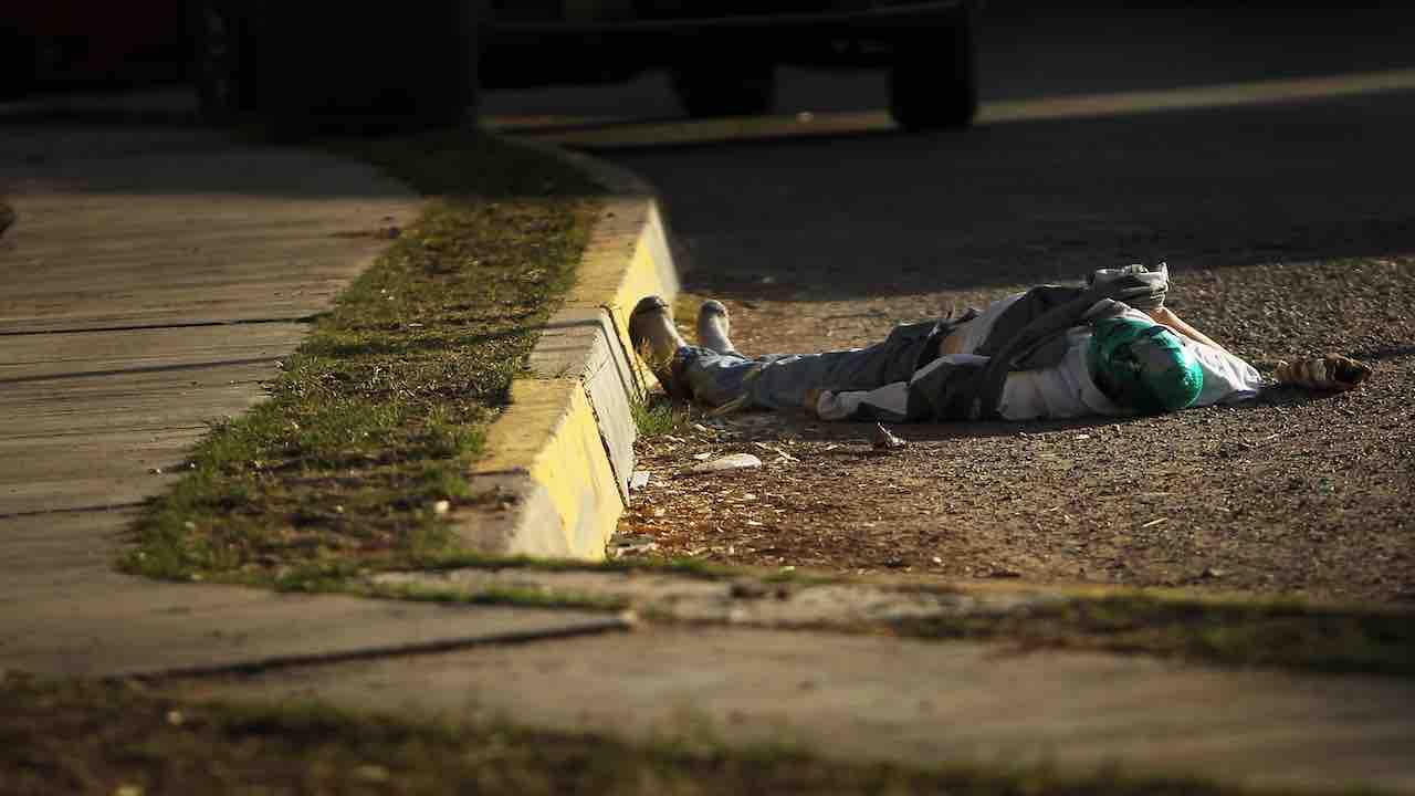 Cadavere in strada - Meteoweek.com