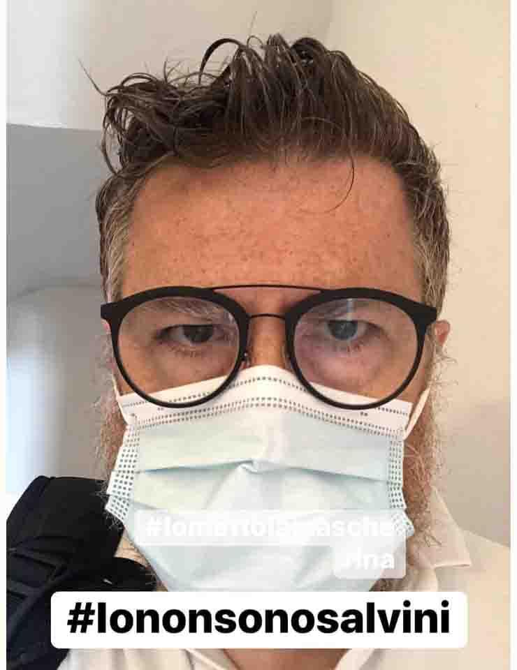 Infermieri contro Salvini che non usa la mascherina Baldini infermiere