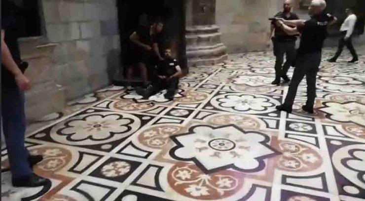 Guardia Giurata aggredita al Duomo di Milano