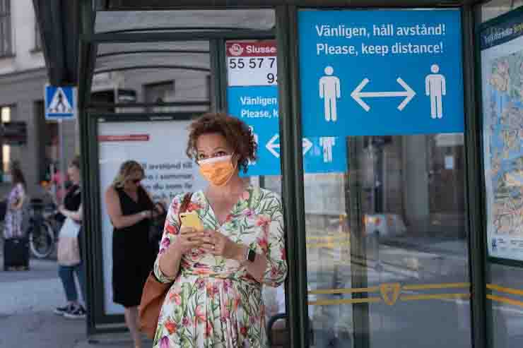 Il Pil della Svezia dopo aver rifiutato il lockdown