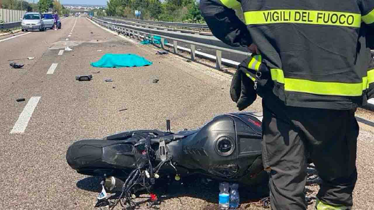 Paolo De Nuzzo incidente mortale in moto