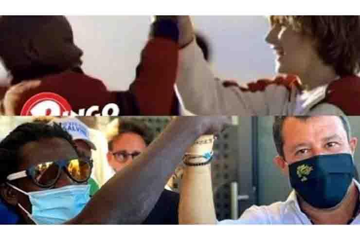 Salvini pubblicità Ringo Barilla precisa