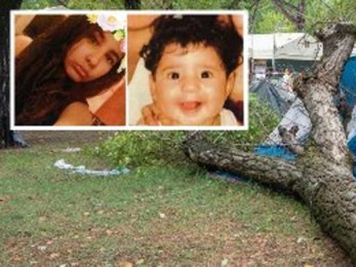 Le due sorelle morte per il crollo di un albero in campeggio