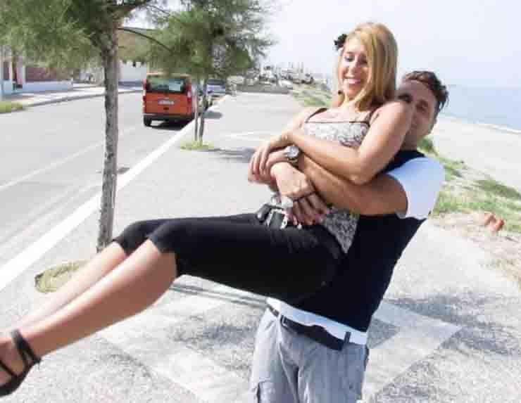 Morte Viviana Parisi in foto con il marito Daniele Mondello