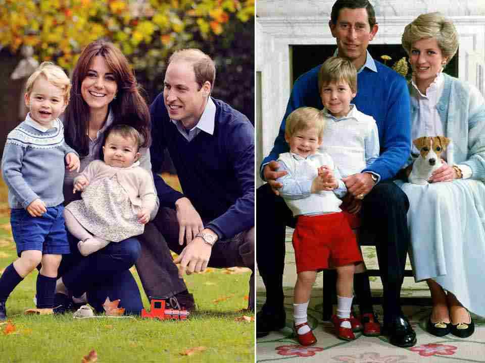 William e Kate con i figli - meteoweek
