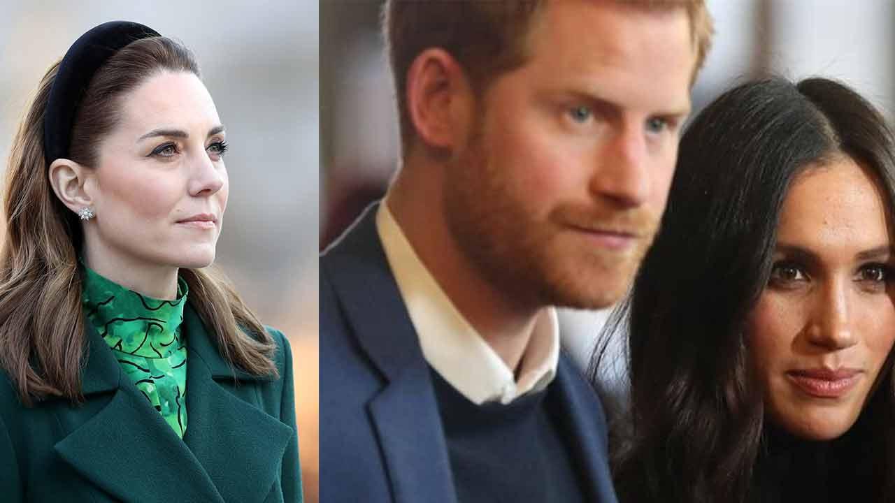 Kate, Harry e Meghan
