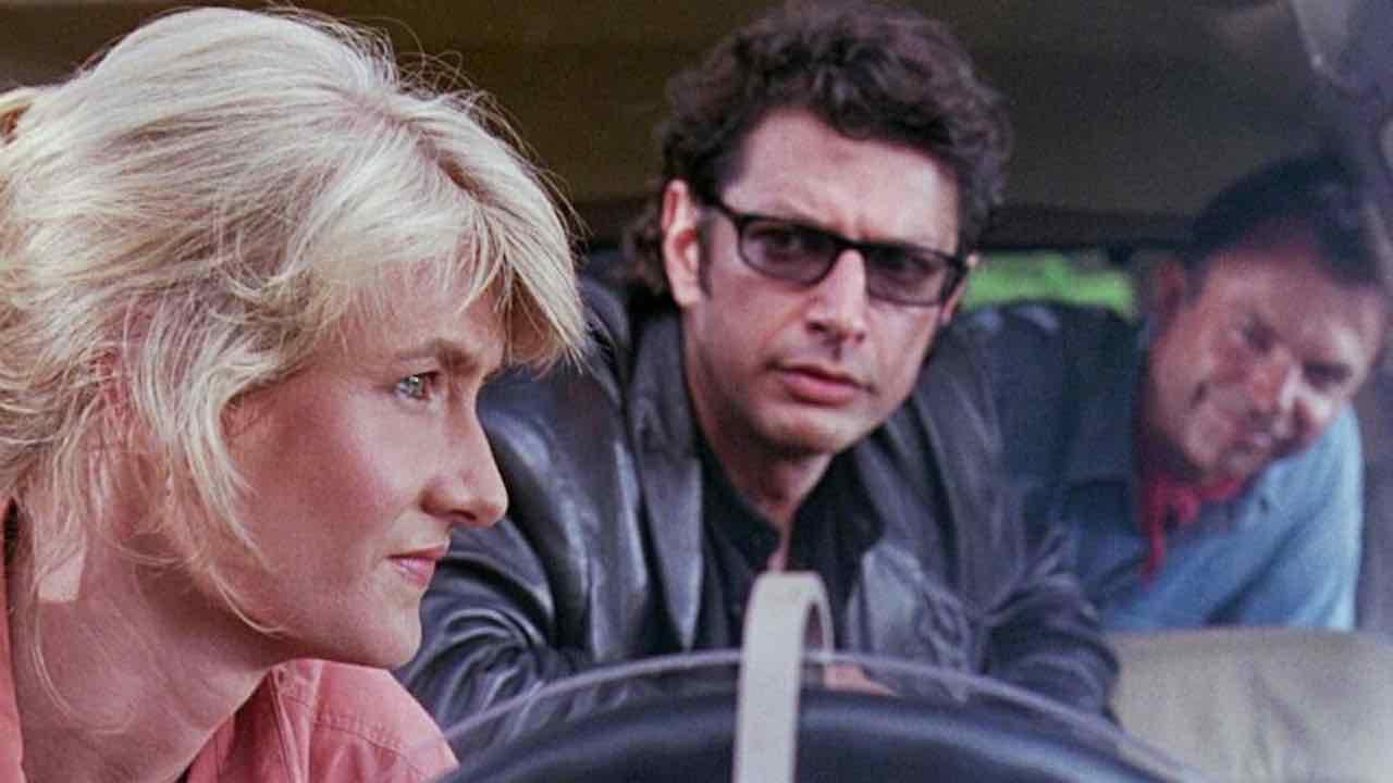 Sam Neill e Laura Dern si ritrovano sul set di Jurassic World | grande emozione