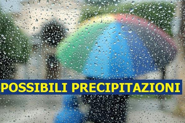 Previsioni Meteo domani lunedì 10 agosto | possibili precipitazioni