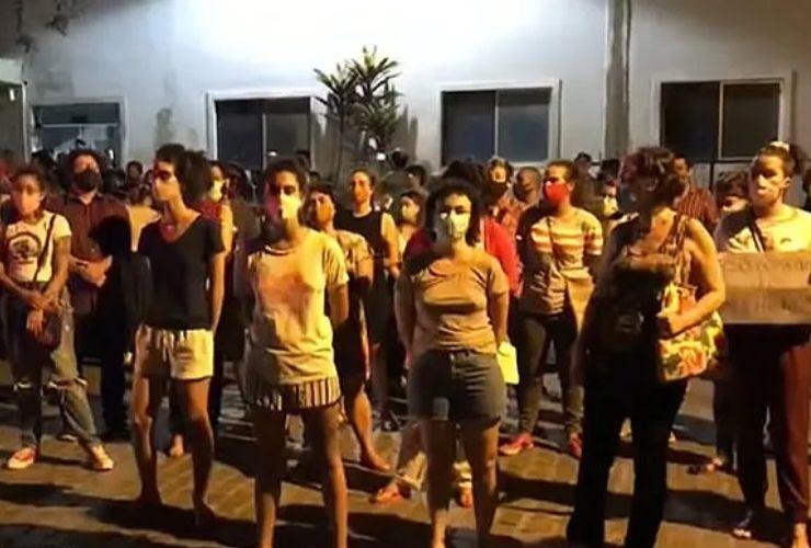 protesta in Brasile contro l'aborto