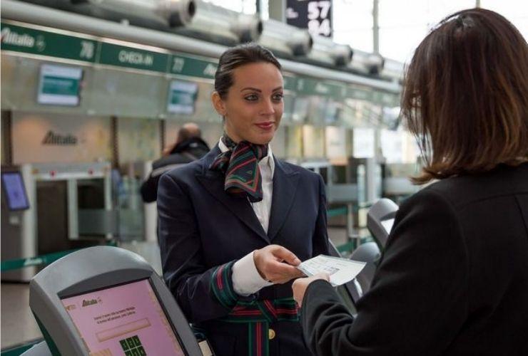 rimborso da Alitalia