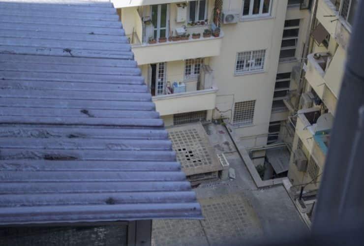 roma - studente cade dal settimo piano
