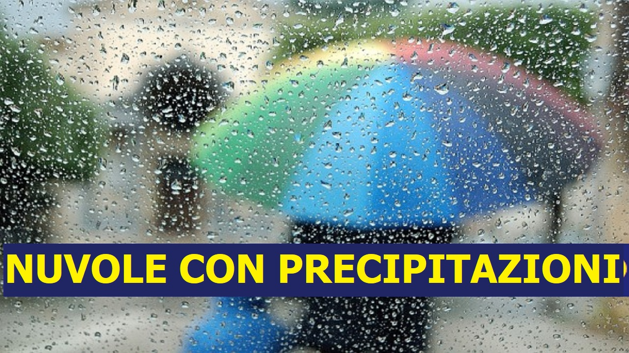 Previsioni Meteo domani venerdì 7 agosto | nuvole con precipitazioni