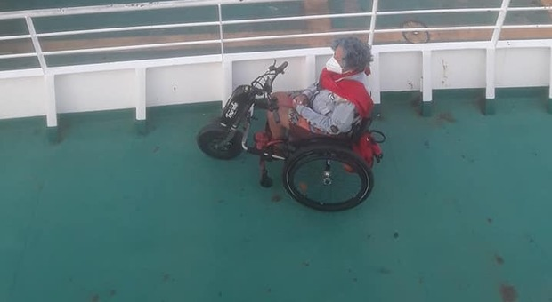 maura fontana disabile maltrattata sul ferry