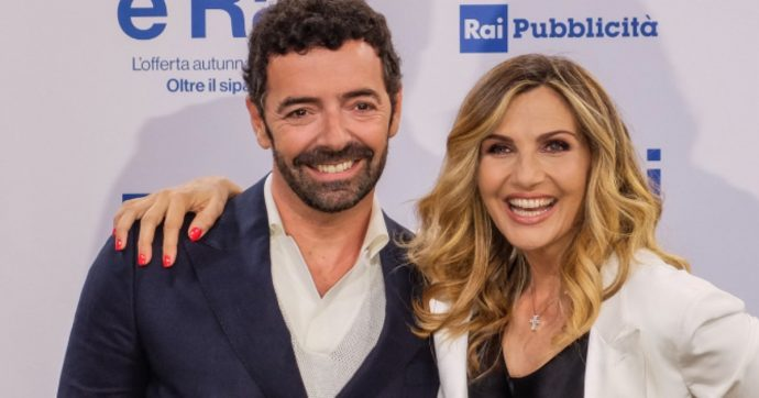 Alberto Matano e Lorella Cuccarini - meteoweek