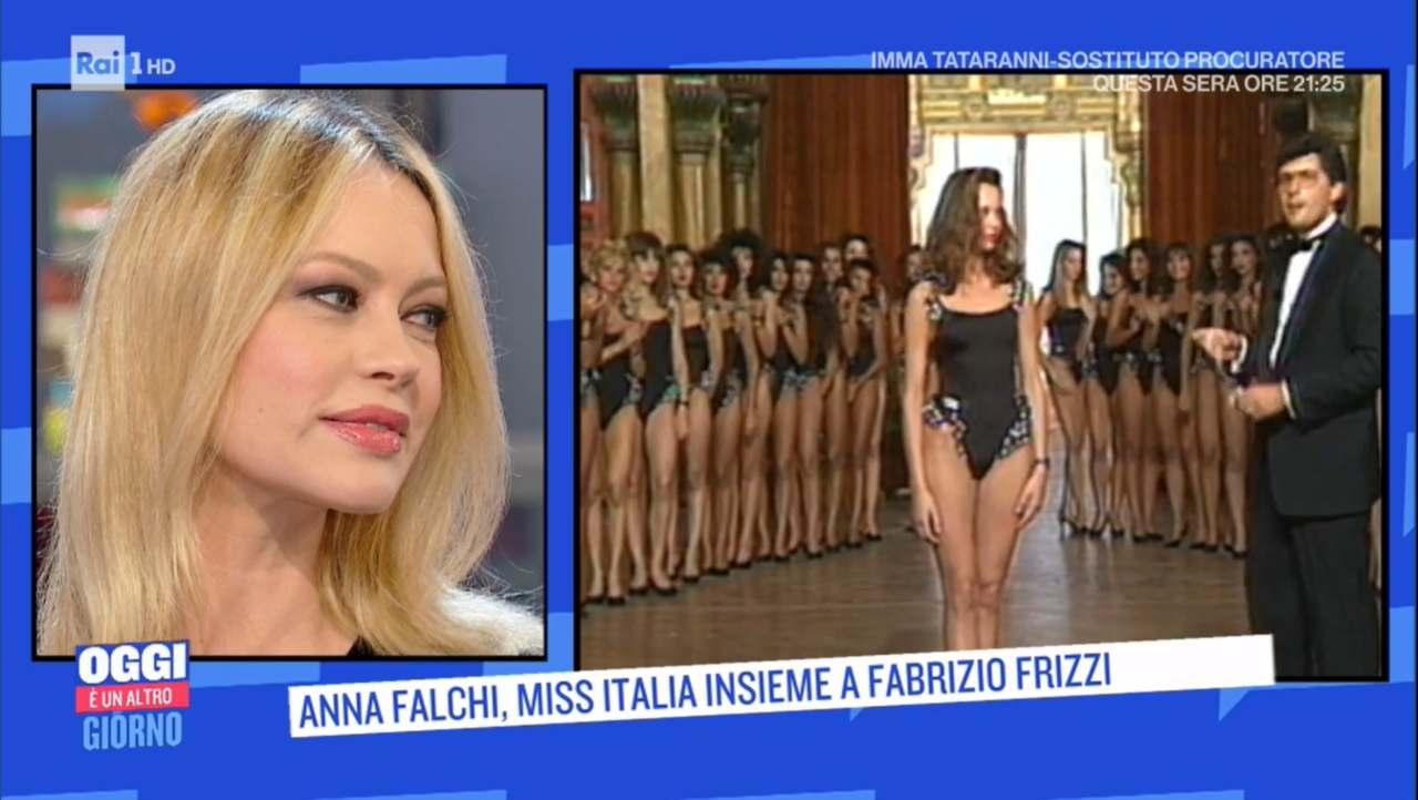 Anna Falchi il rapporto con la bellezza | Il ricordo di Fabrizio Frizzi su Rai 1