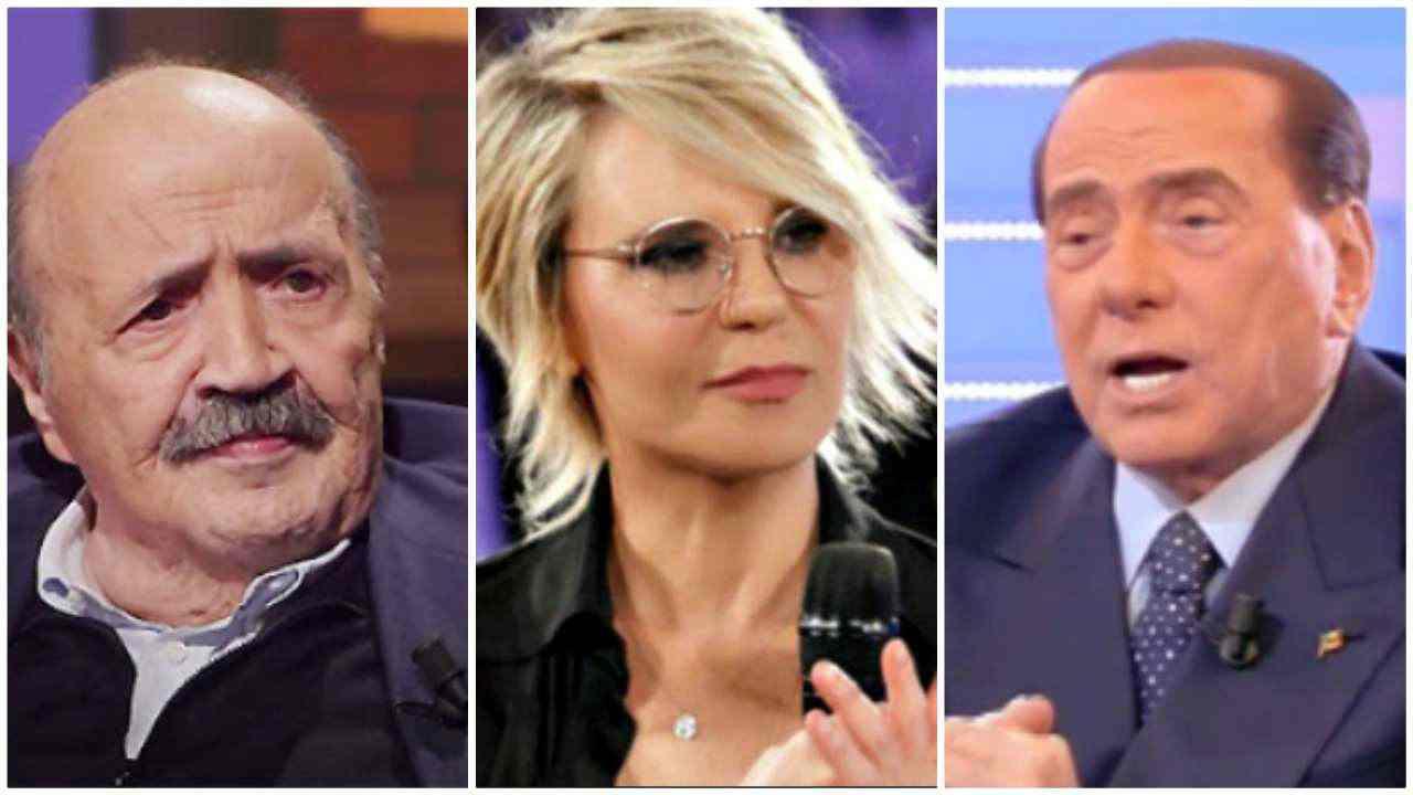 Costanzo, Maria e Berlusconi - Meteoweek