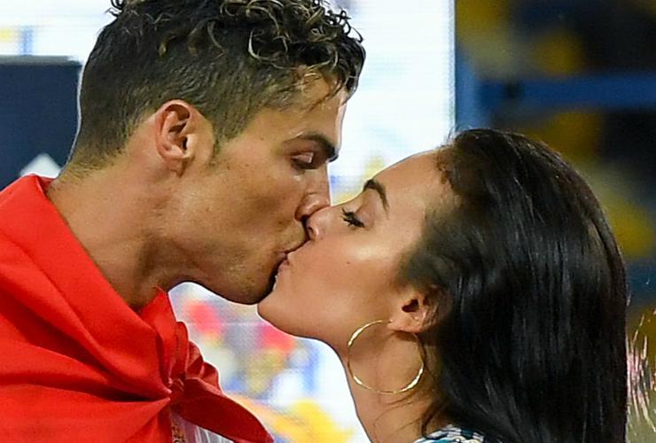 Cristiano Ronaldo e Georgina - Meteoweek