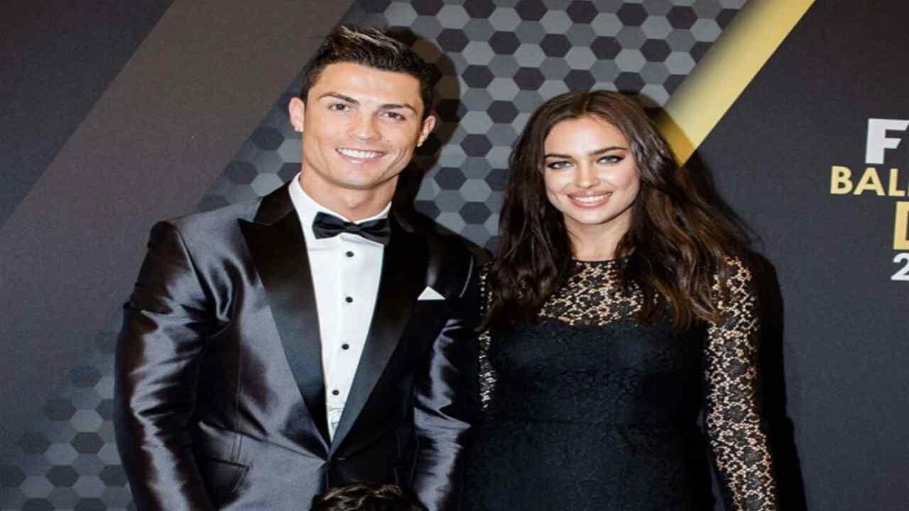 Cristiano Ronaldo e Irina - Meteoweek
