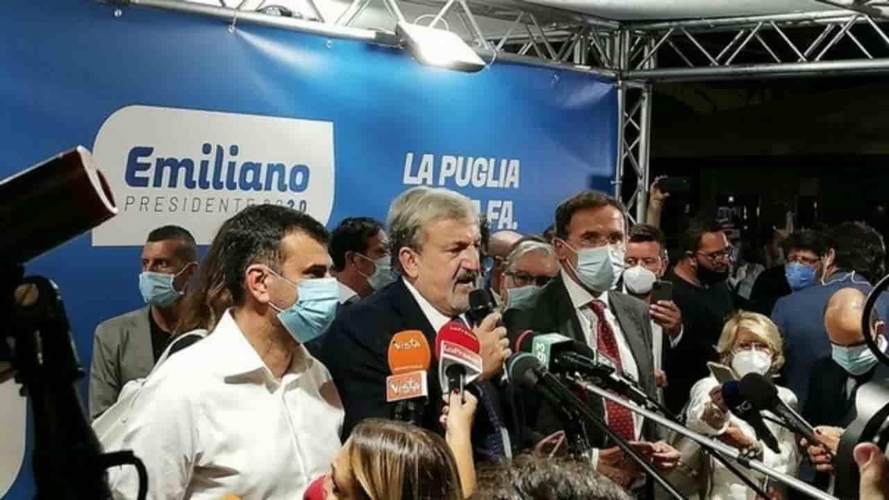"""Emiliano governatore della Puglia: """"Un mare di leghisti ha votato per noi"""""""