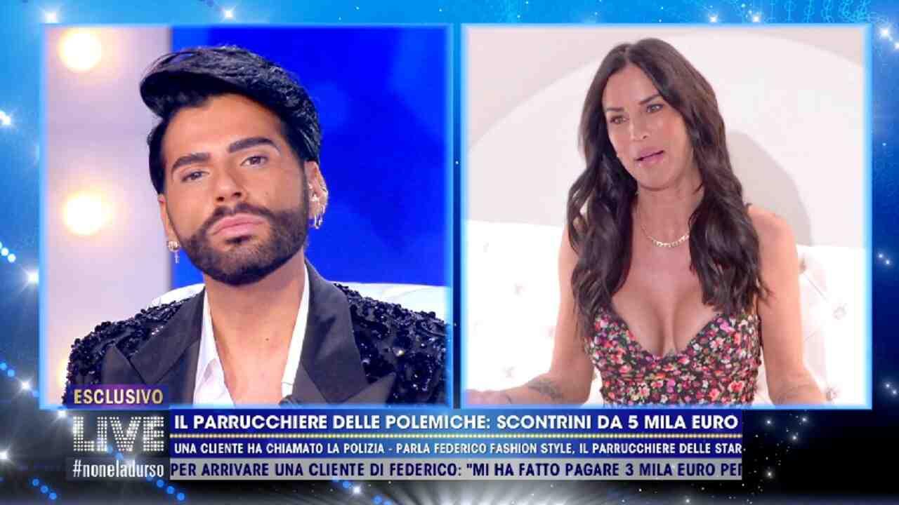 """Federico Fashion Style accusa Antonella Mosetti: """"Sparita dopo un conto di 600 euro"""""""