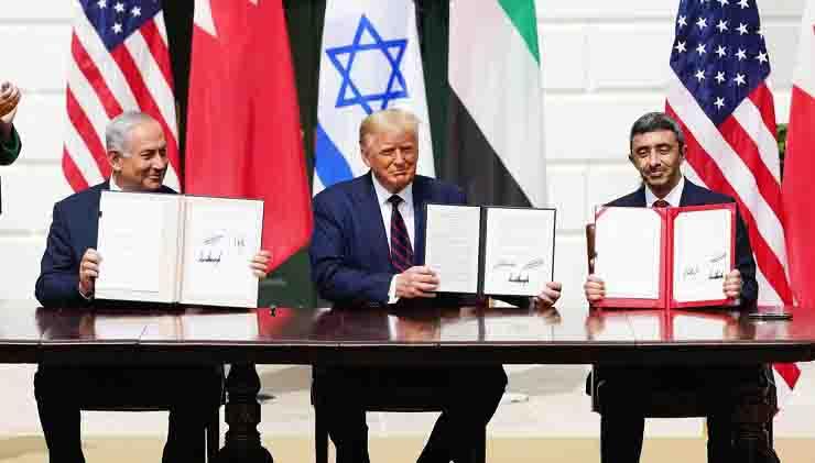 Firmato accordo storico alla Casa Bianca