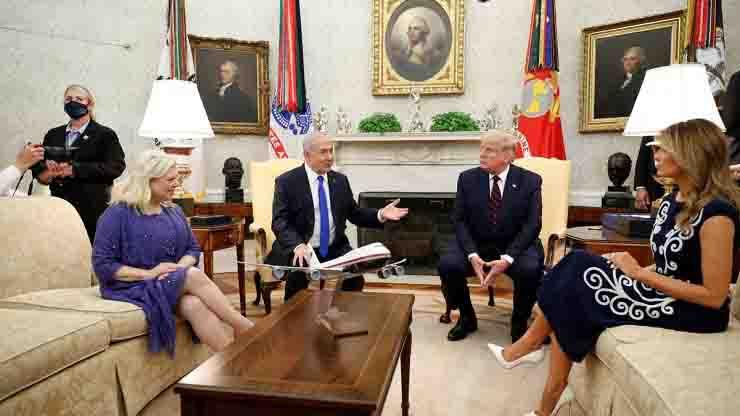 Firmato accordo storico tra paesi arabi alla Casa Bianca