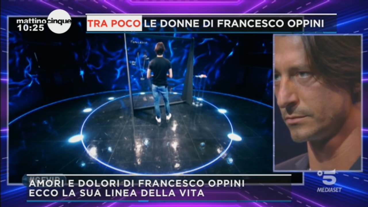 Francesco Oppini il velo di malinconia | Tragico racconto a Mattino Cinque