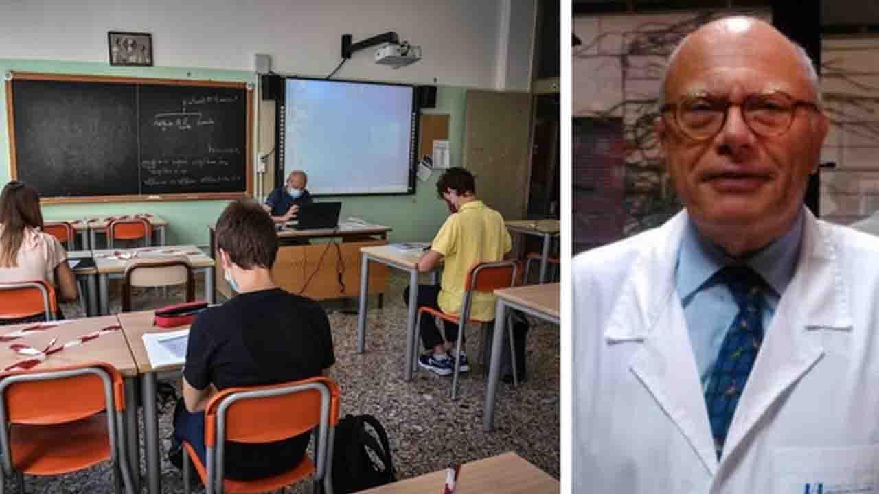 Covid, l'infettivologo Galli intervistato dalla Stampa