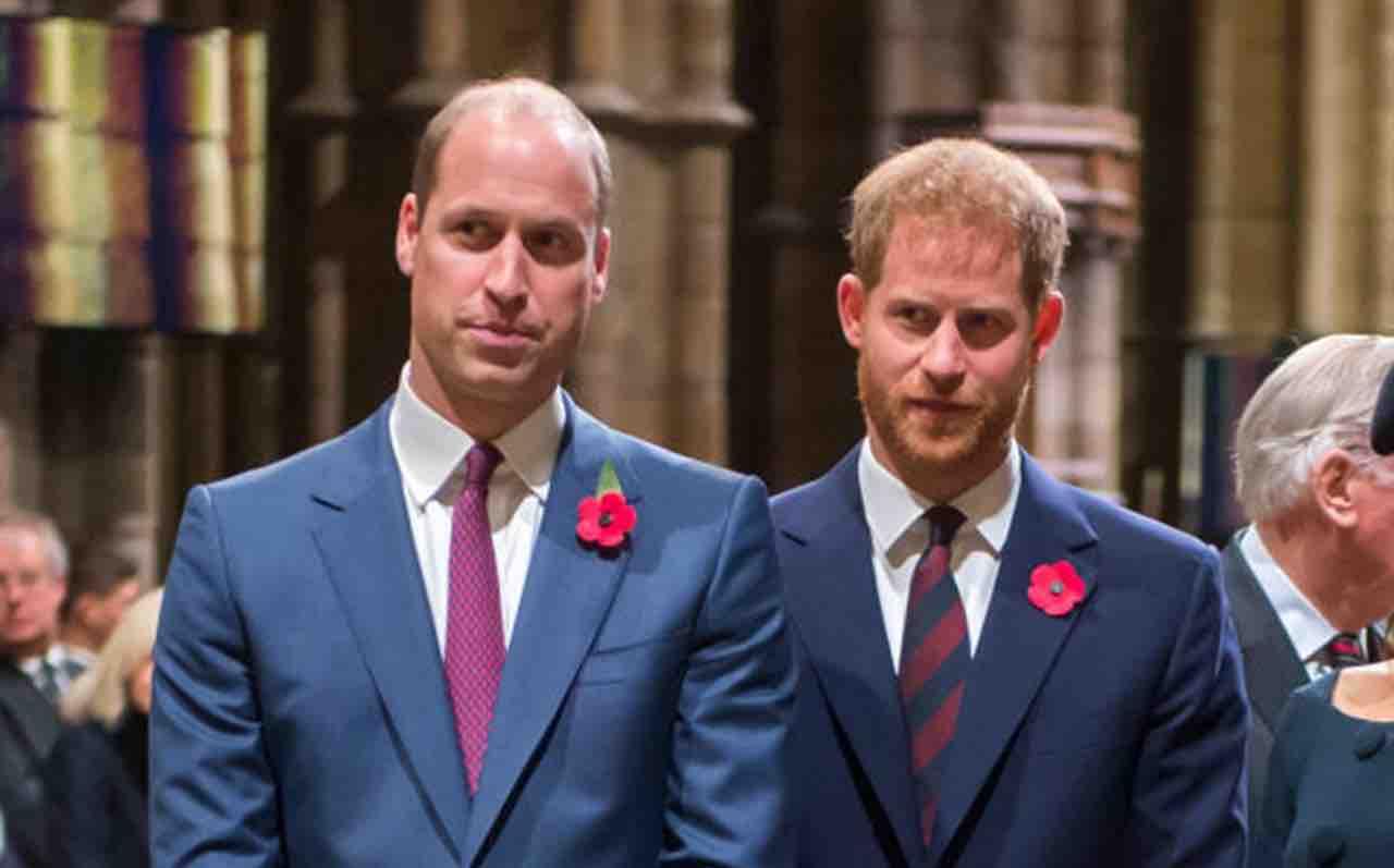 """William e Harry: la """"paghetta"""" da capogiro che gli passa papà Carlo"""