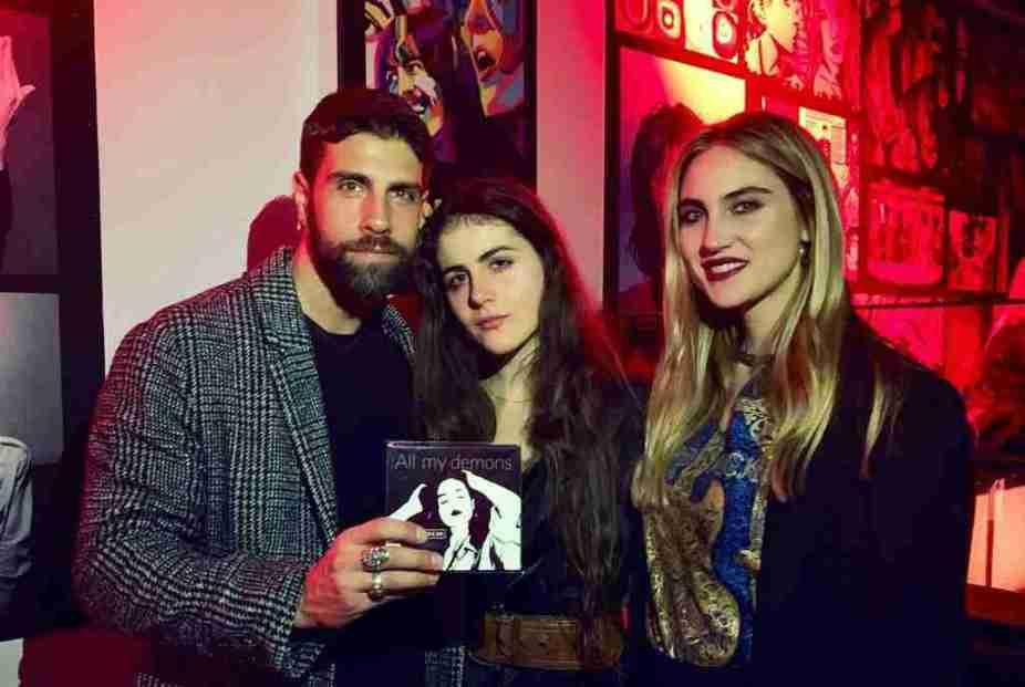 Gilles Rocca, Marla Green e Miriam Galanti - meteoweek