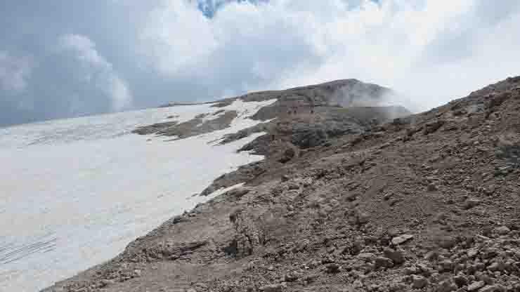Il ghiacciaio della Marmolada sta morendo 15 anni di vita