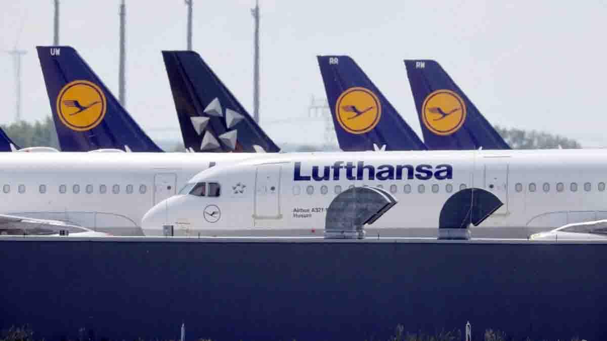 Lufthansa crisi covid tagli