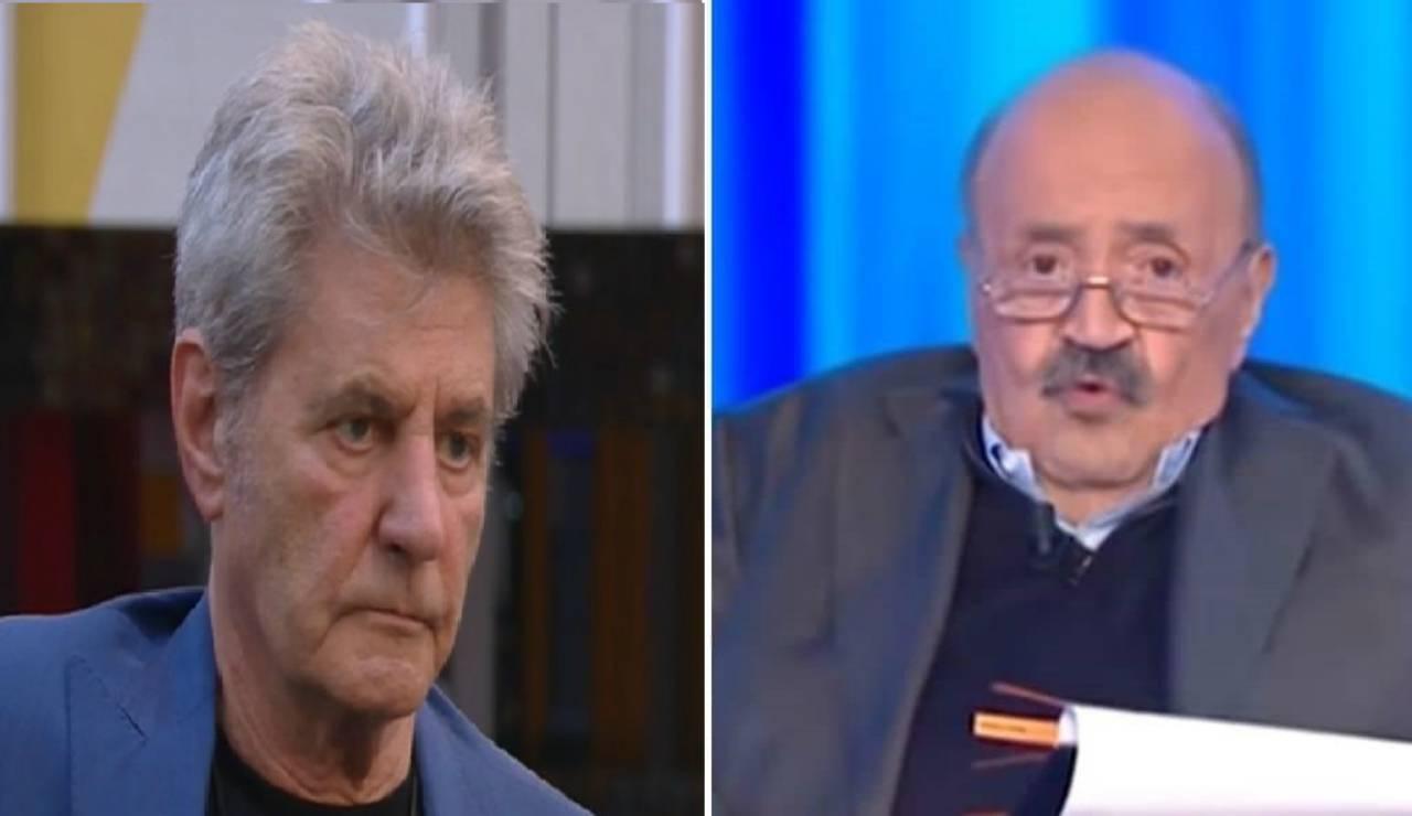 Maurizio Costanzo gela Fausto Leali: il giornalista contro il Grande Fratello Vip