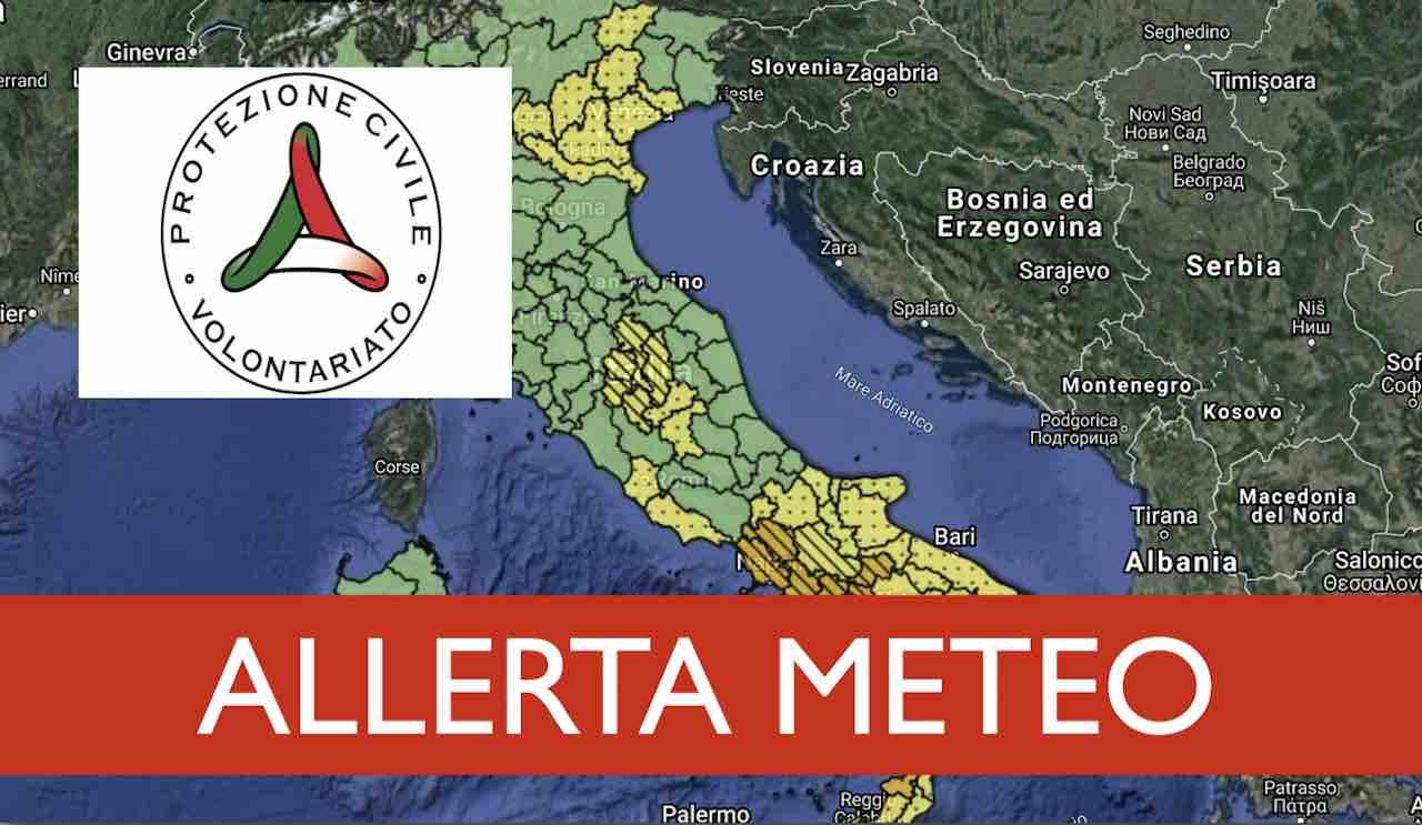 Previsioni meteo oggi sabato 26 settembre | ALLERTA ARANCIONE