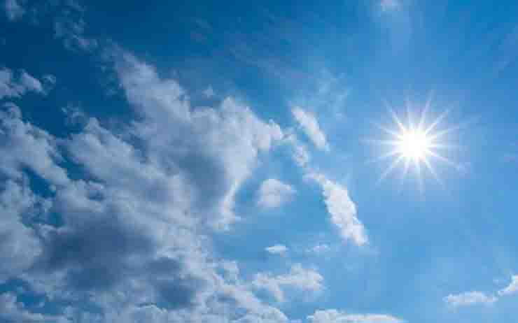 Meteo da giovedi' torna il sole
