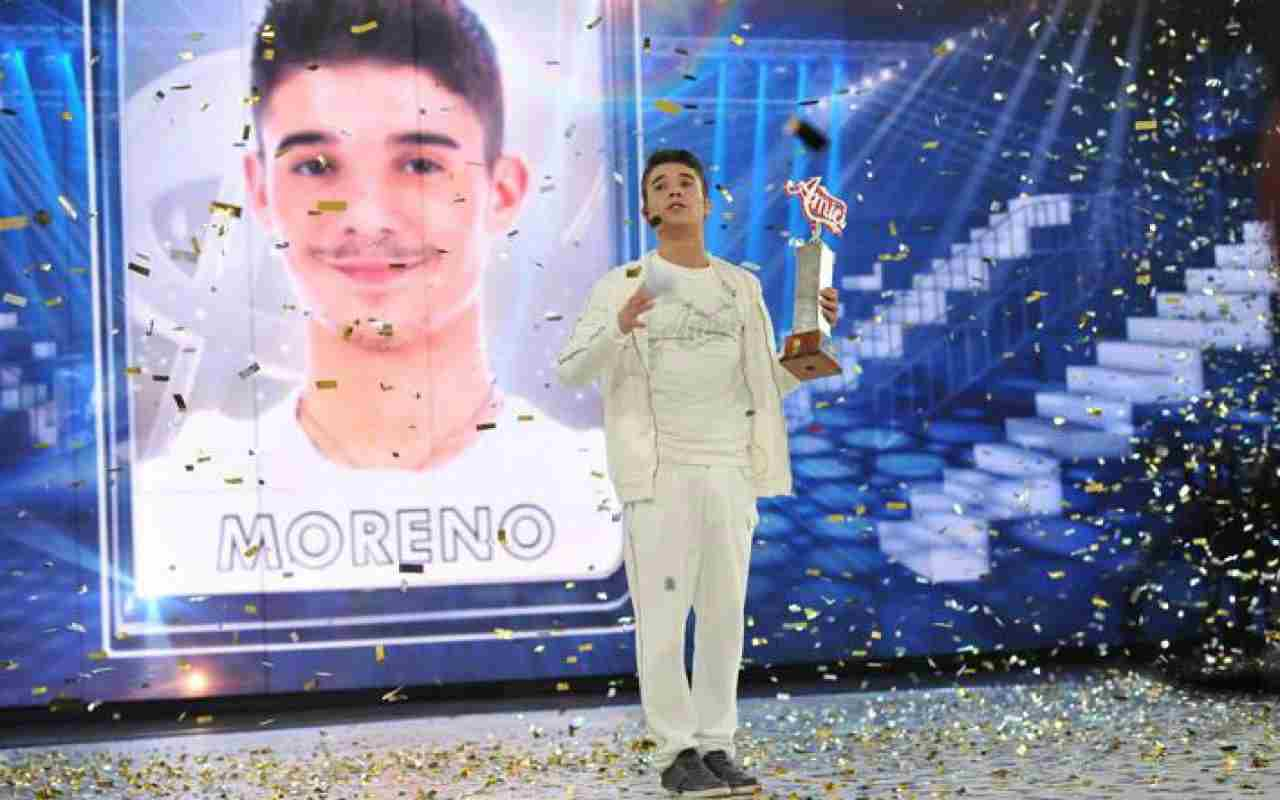 Moreno Donadoni ad Amici - meteoweek