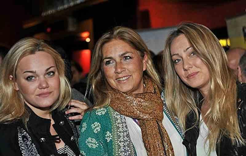 Romina Power e le figlie Cristel e Romina Jr
