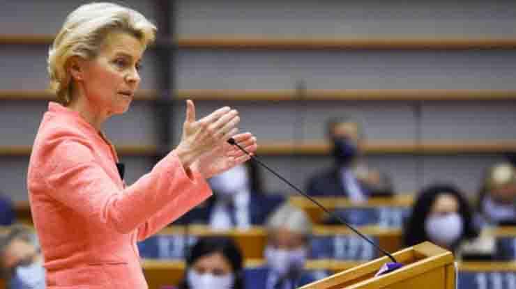 Von der Leyen: «Il 37% del Recovery Fund andrà alla lotta al cambiamento climatico»