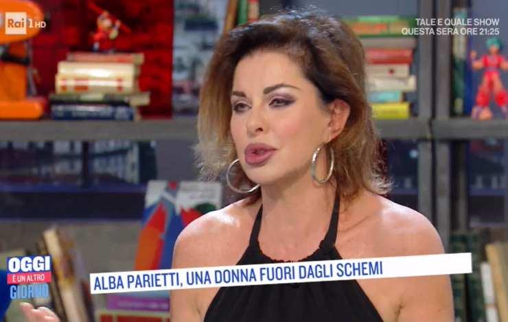 Alba Parietti La Trageda A Oggi E Un Altro Giorno La Malattia Della Mamma