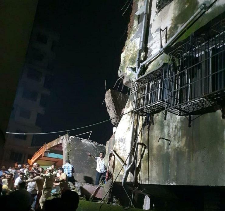 crollo edificio india