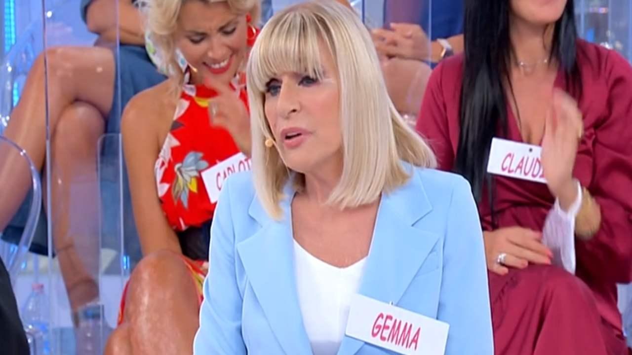 Gemma Galgani spaventa gli uomini | Dama rancorosa a Uomini e Donne