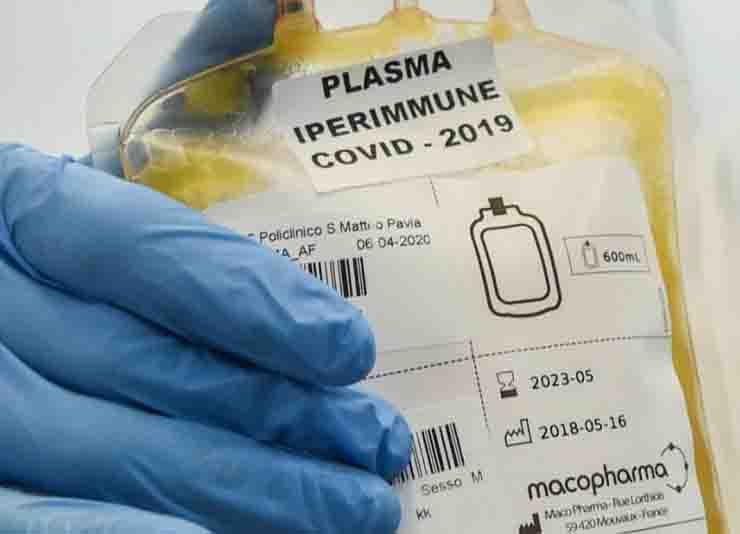 il plasma iperimmune non funziona